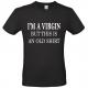 T-shirt I'm a Virgin