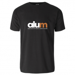 T-shirt AIUM nera