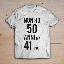 T-shirt 50 anni