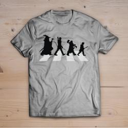 T-shirt signore degli anelli beatles