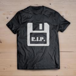 T-shirt Floppy R.I.P.