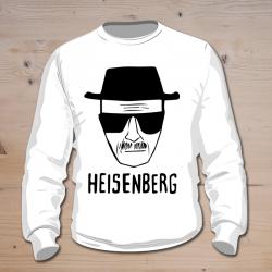 Felpa Heisenberg bianca