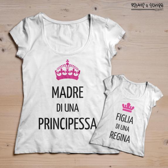 T-shirt madre di una principessa