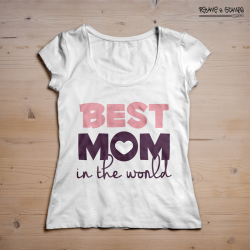 T-shirt best mom